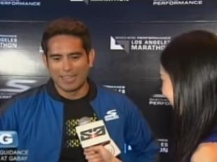 The Score: Gerald Anderson in L.A. Marathon