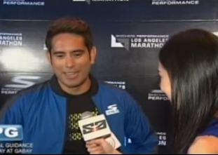The Score: Gerald Anderson in L.A. Marathon