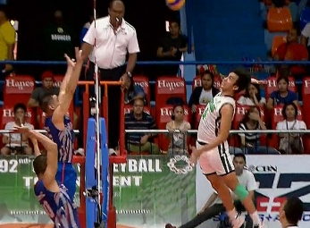 NCAA 92 Men's Volleyball Final Four: CSB vs AU