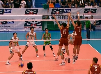NCAA 92 MEN'S VOLLEYBALL FINALS GAME 2 : UPHSD vs CSB (S1)
