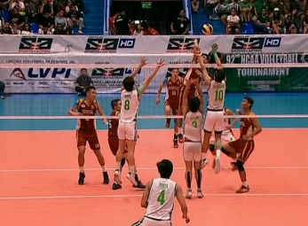 NCAA 92 MEN'S VOLLEYBALL FINALS GAME 2 : UPHSD vs CSB (S2)