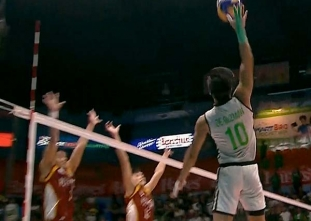 NCAA 92 Men's Volleyball Finals: CSB vs UPHSD