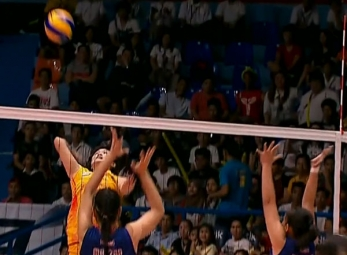 NCAA 92 VOLLEYBALL WOMEN FINALS GAME 1: AU vs SSC-R (S1)