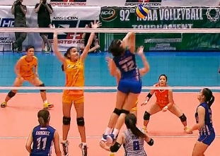 NCAA 92 Women's Volleyball Finals: AU vs SSC-R