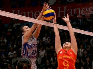 NCAA 92 WOMEN'S VOLLEYBALL FINALS GAME 2: SSC-R vs AU (S1)