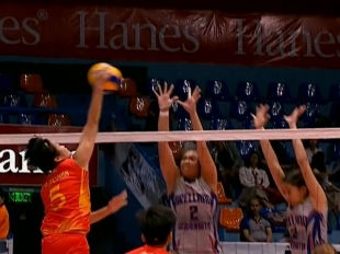 NCAA 92 WOMEN'S VOLLEYBALL FINALS GAME 2: SSC-R vs AU (S2)