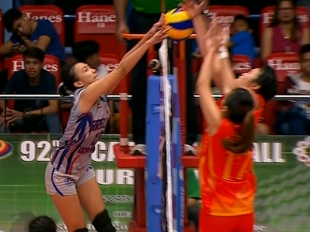 NCAA 92 WOMEN'S VOLLEYBALL FINALS GAME 2: SSC-R vs AU (S3)