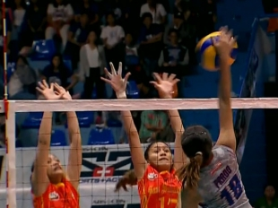 NCAA 92 WOMEN'S VOLLEYBALL FINALS GAME 2: SSC-R vs AU (S4)