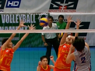 NCAA 92 Women's Volleyball Finals: AU vs SSC-R (GH)
