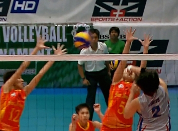NCAA 92 Women's Volleyball Finals: AU vs SSC-R (GH)