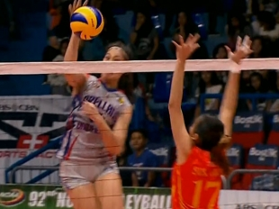 NCAA 92 WOMEN'S VOLLEYBALL FINALS GAME 2: SSC-R vs AU (S5)