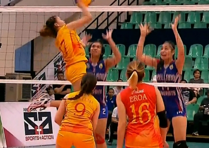NCAA 92 WOMEN'S VOLLEYBALL FINALS GAME 3: SSC-R vs AU (S1)