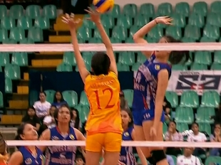 NCAA 92 WOMEN'S VOLLEYBALL FINALS GAME 3: SSC-R vs AU (S3)