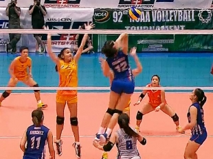 NCAA 92 Women's Volleyball Championship: AU vs SSC-R