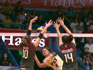 UAAP 79 WOMEN'S VOLLEYBALL ROUND 1: UST vs UP (S2)