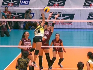 UAAP 79 WOMEN'S VOLLEYBALL ROUND 1: UST vs UP (S4)