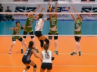 UAAP 79 Women's Volleyball: DLSU vs NU Game Highlights
