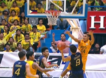 UAAP 79 JUNIOR'S BASKETBALL FINALS GAME 1: NU vs FEU (Q1)