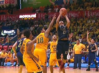 UAAP 79 JUNIOR'S BASKETBALL FINALS GAME 1: NU vs FEU (Q2)