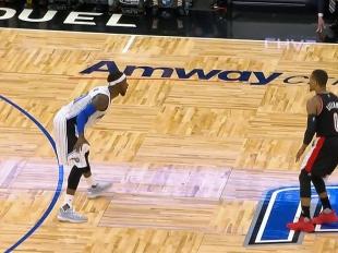 Damian Lillard scores 33 points vs the Magic