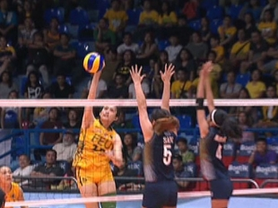 UAAP 79 WOMEN'S VOLLEYBALL ROUND 1: FEU vs NU (S2)