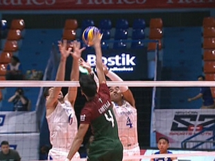 UAAP 79 MEN'S VOLLEYBALL ROUND 1: ADMU vs UP (S1)