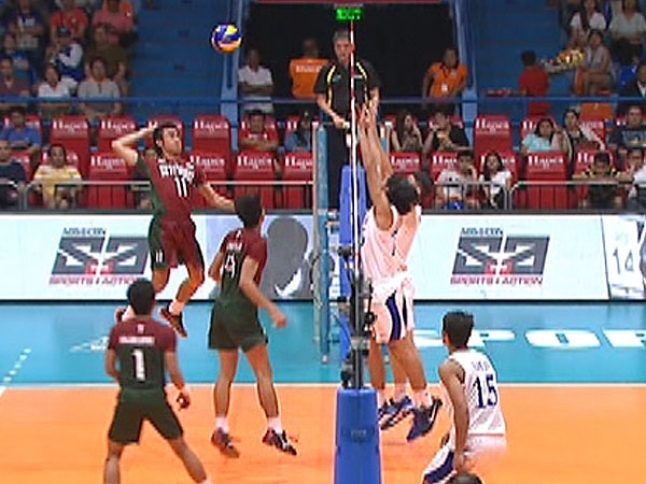 UAAP 79 MEN'S VOLLEYBALL ROUND 1: ADMU vs UP (S3)