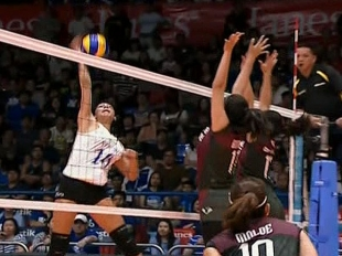 UAAP 79 WOMEN'S VOLLEYBALL ROUND 1: ADMU vs UP (S1)