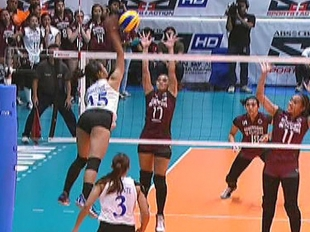 UAAP 79 WOMEN'S VOLLEYBALL ROUND 1: ADMU vs UP (S2)