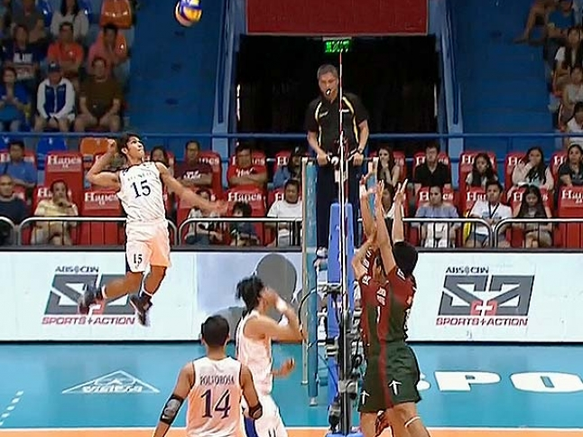 UAAP 79 Men's Volleyball: ADMU vs UP Game Highlights