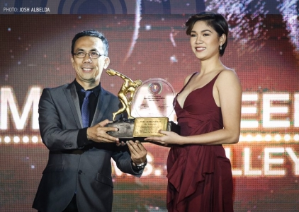 The Score: 2016 PSA Ms. Volleyball Awardee Mika Reyes