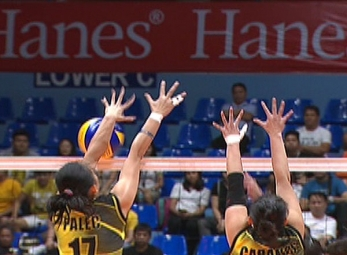 UAAP 79 WOMEN'S VOLLEYBALL ROUND 2: ADMU vs UST (S2)