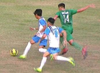 UAAP 79 FOOTBALL ROUND 2: DLSU vs AdU (H1)