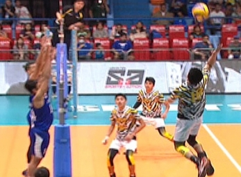 UAAP 79 MEN'S VOLLEYBALL ROUND 2: UST vs ADMU (S2)