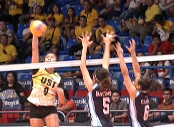 UAAP 79 WOMEN'S VOLLEYBALL ROUND 2: UST vs AdU (S1)