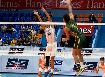 UAAP 79 MEN'S VOLLEYBALL ROUND 2: NU vs FEU (S2)