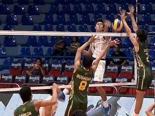 UAAP 79 MEN'S VOLLEYBALL ROUND 2: NU vs FEU (S3)