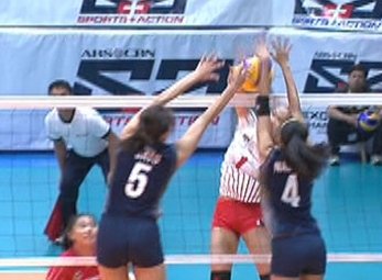 UAAP 79 WOMEN'S VOLLEYBALL ROUND 2: UE vs NU (S1)