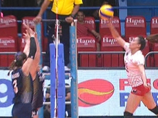 UAAP 79 WOMEN'S VOLLEYBALL ROUND 2: UE vs NU (S2)