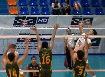 UAAP 79 Men's Volleyball: NU vs FEU Game Highlights