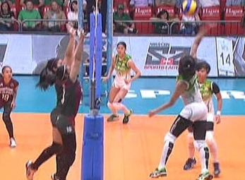 UAAP 79 WOMEN'S VOLLEYBALL ROUND 2: DLSU vs UP (S2)