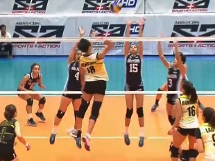 UAAP 79 Women's Volleyball: UST vs ADU Game Highlights