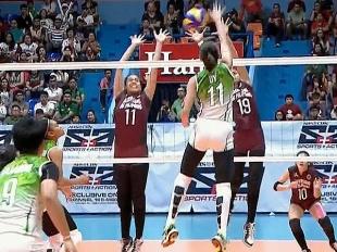UAAP 79 Women's Volleyball: DLSU vs UP Game Highlights