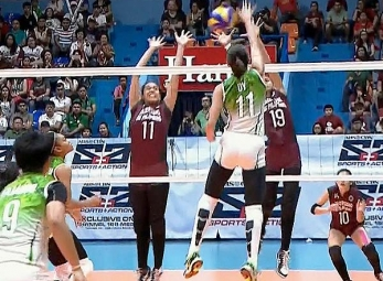 UAAP 79 Women's Volleyball: DLSU vs UP Game Highlights
