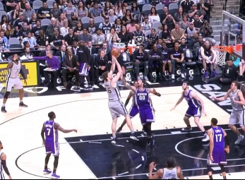 Pau Gasol leads the Spurs past the Kings with 22 points