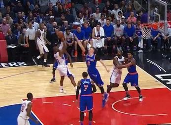 Chris Paul's Shammgod move vs the Knicks