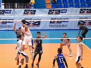 UAAP 79 Men's Volleyball: ADMU vs ADU Game Highlights