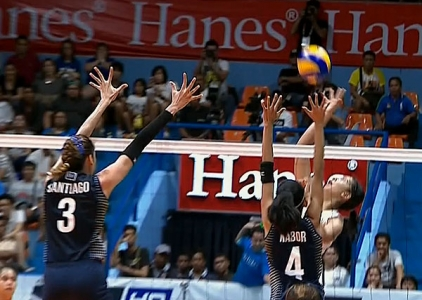 UAAP 79 WOMEN'S VOLLEYBALL ROUND 2: ADMU vs NU (S2)