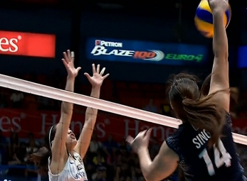 UAAP 79 WOMEN'S VOLLEYBALL ROUND 2: ADMU vs NU (S3)