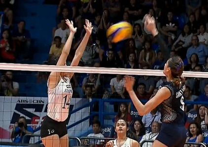 UAAP 79 WOMEN'S VOLLEYBALL ROUND 2: ADMU vs NU (S5)